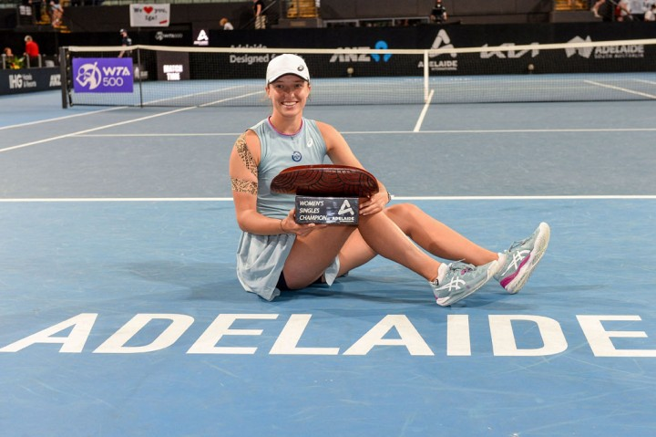 Iga Swiatek Juara Adelaide International