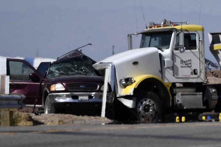 Duh, Kecelakaan Maut di California Selatan akibatkan 15 Orang