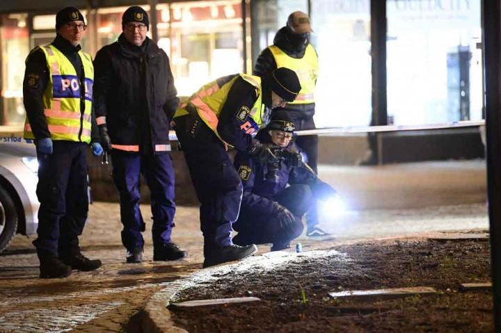 Duh, Penikaman di Swedia Mengakibatkan Delapan Orang Terluka