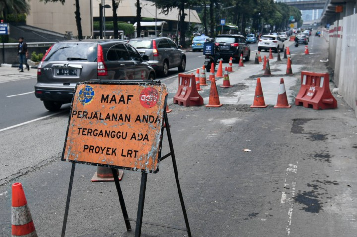 6.900 Titik Jalan di Jakarta Rusak Akibat Banjir