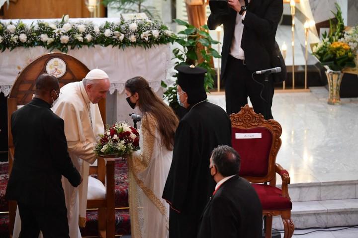 Momen Kunjungan Bersejarah Paus Fransiskus di Irak