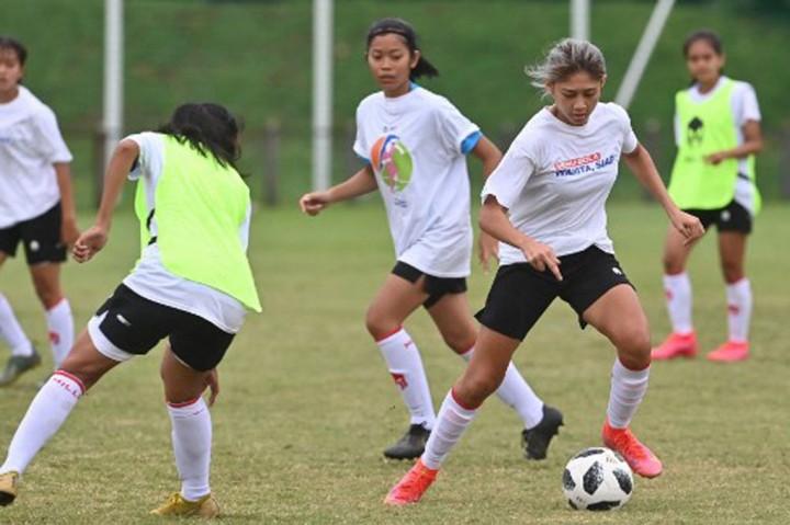 Melihat Latihan Perdana Timnas Putri Jelang SEA Games 2021