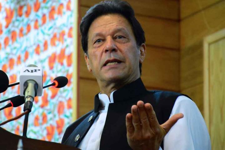 PM Pakistan Imran Khan Positif Virus Korona