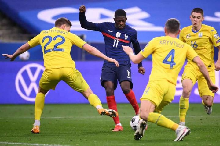 Prancis Vs Ukraina: Les Bleus Ditahan Imbang 1-1