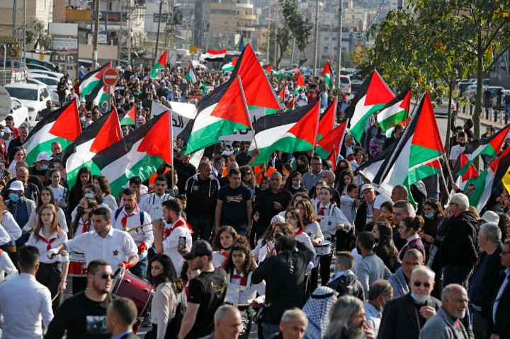 Foto: Suasana Peringatan 'Land Day' Warga Palestina di Israel