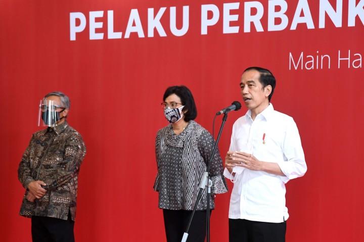 Jokowi Berharap Aktivitas Perbankan dan Pasar Modal Normal Usai