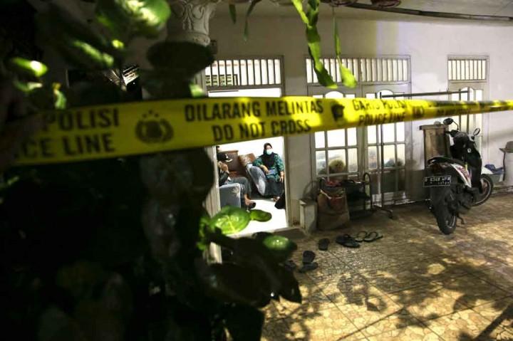 Potret Jenazah Terduga Teroris Penyerang Mabes Polri Tiba di RS