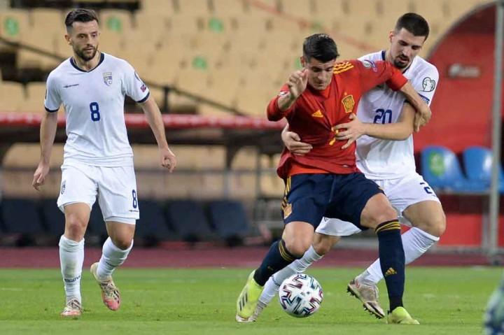 Kualifikasi Piala Dunia 2022: Tekuk Kosovo 3-1, Spanyol Puncaki