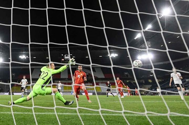 Kualifikasi Piala Dunia 2022: Jerman Tumbang 1-2 di Tangan
