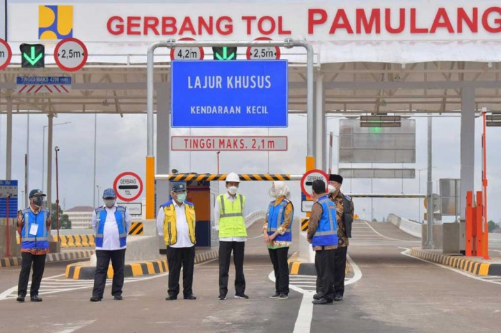 Jokowi Resmikan Dua Tol Sekaligus di Tangsel