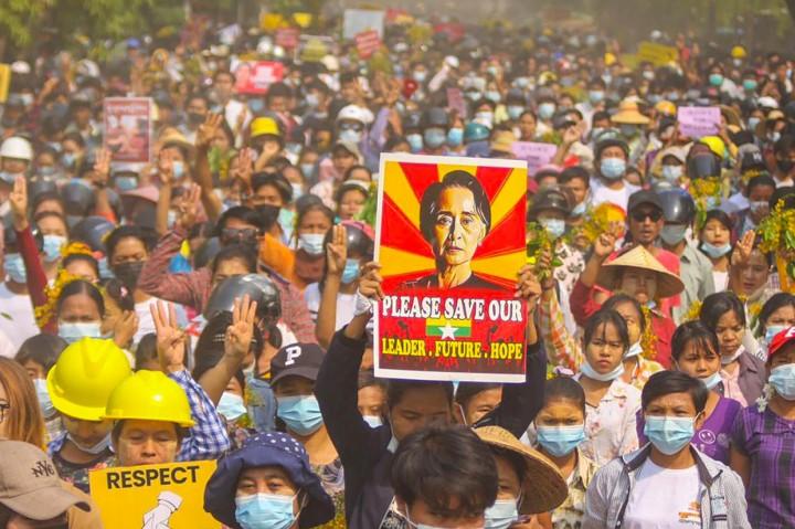 536 Orang Meninggal dalam Aksi Kudeta Militer Myanmar