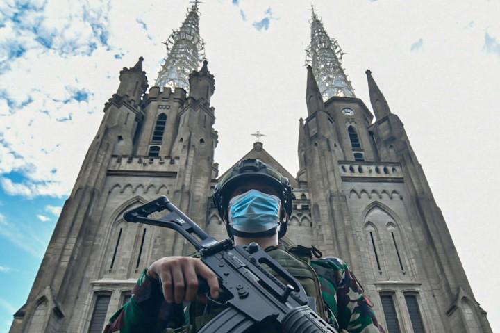 Jumlah Jemaat Dibatasi, Gereja Katedral Hanya Siapkan 309 Kursi
