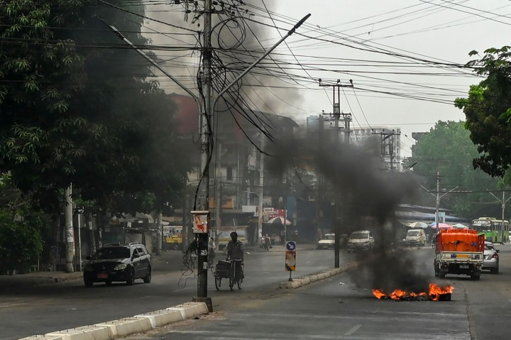 550 Orang Meninggal dalam Unjuk Rasa Anti-Kudeta Militer Myanmar