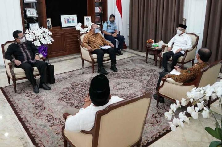 3 Berita Foto Terpopuler: Pimpinan MGN Temui Ma'ruf Amin hingga