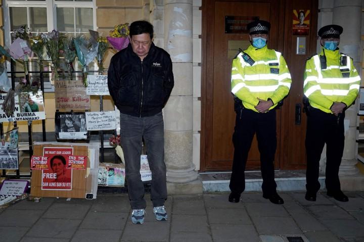 Atase Militer Duduki Kedutaan di London, Dubes Myanmar Dilarang