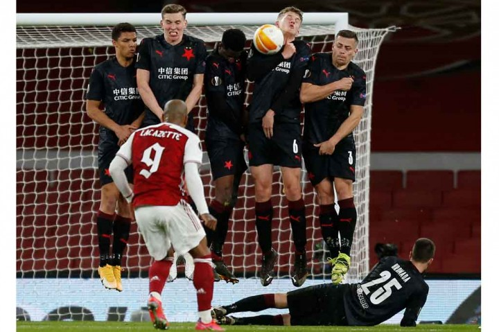 Liga Europa: Arsenal Diimbangi Slavia Praha 1-1 di Leg Pertama