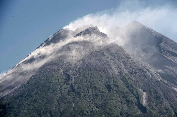 Volume Kubah Lava Merapi Capai 1 Juta Meter Kubik