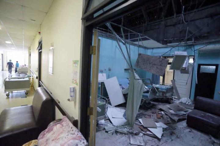 Foto-Foto Kerusakan akibat Gempa di Malang