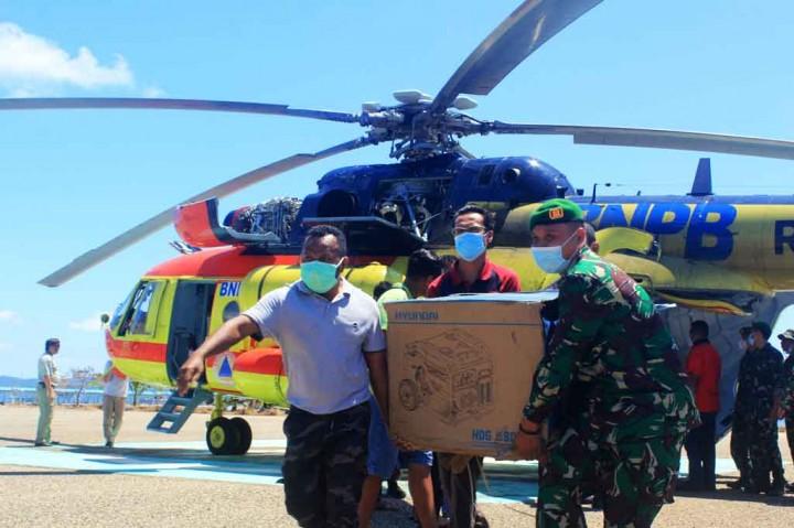 Bantuan Kloter Pertama untuk Korban Bencana di Sabu Raijua Mulai