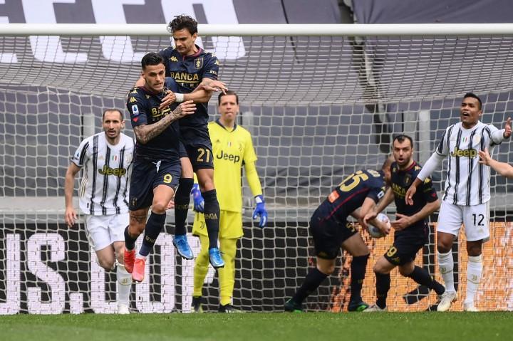 Liga Italia: Tekuk Genoa 3-1, Juventus Naik ke Posisi Tiga