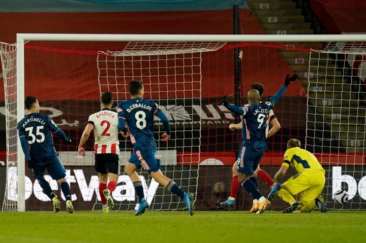 Liga Inggris: Arsenal Bungkam Sheffield 3-0
