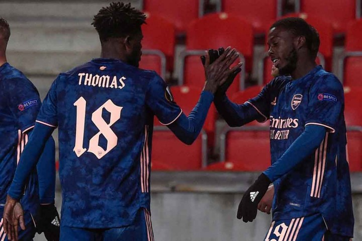 Liga Europa: Menang Telak 4-0 Atas Slavia Praha, Arsenal Kunci
