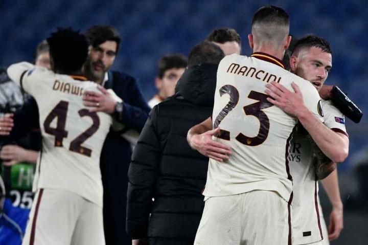 Roma Vs Ajax: Imbang 1-1, Giallorossi Melenggang ke Semifinal