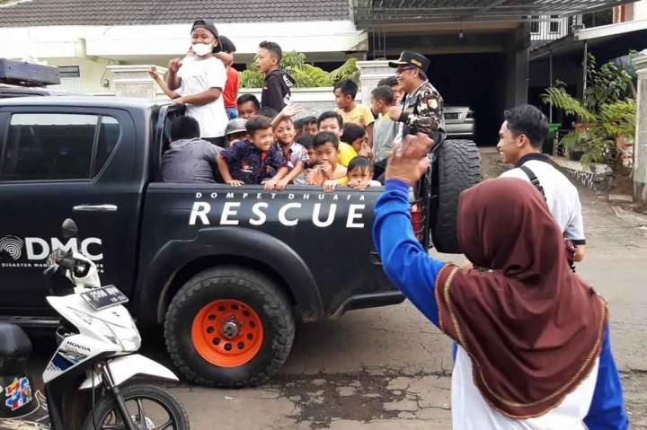 Trauma Healing untuk Anak Korban Gempa Malang
