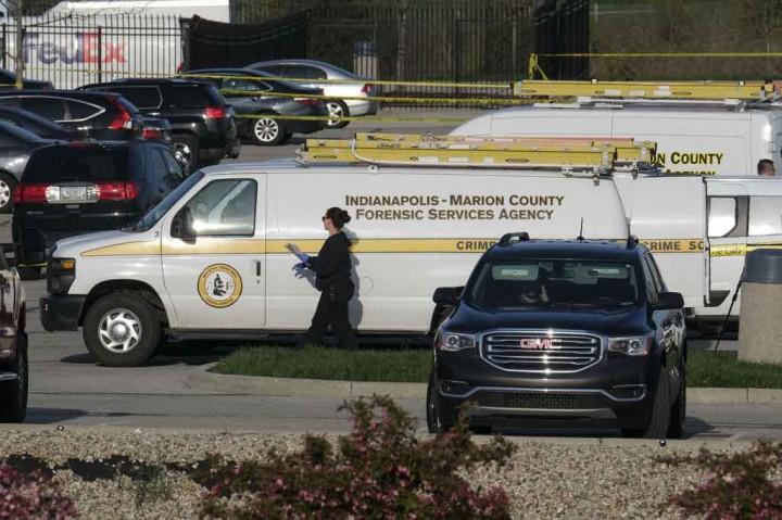 Dor! Delapan Meninggal dalam Penembakan Massal di Indianapolis