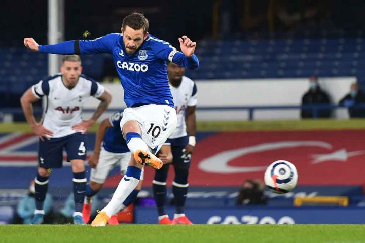 Everton Vs Tottenham: The Toffes Ditahan The Lilywhites 3-3