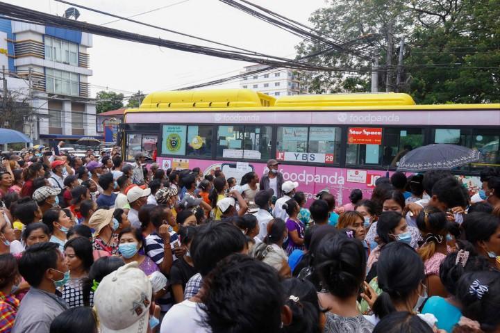 23 Ribu Tahanan Dibebaskan dari Penjara Myanmar