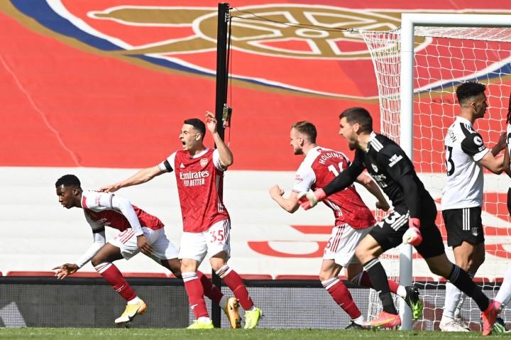 Arsenal Vs Fulham: Nketiah Selamatkan The Gunners dari Kekalahan