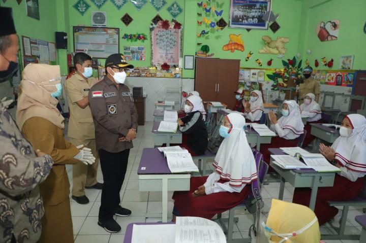 Foto: Pemkot Malang Mulai Pembelajaran Tatap Muka