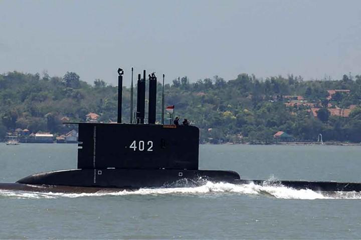 KRI Nanggala-402 Hilang Kontak di Perairan Bali