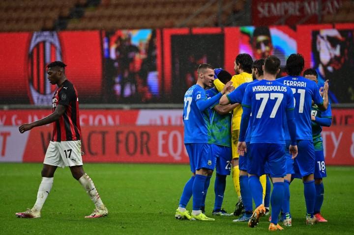 Milan Vs Sassuolo: Rossoneri Tumbang 1-2