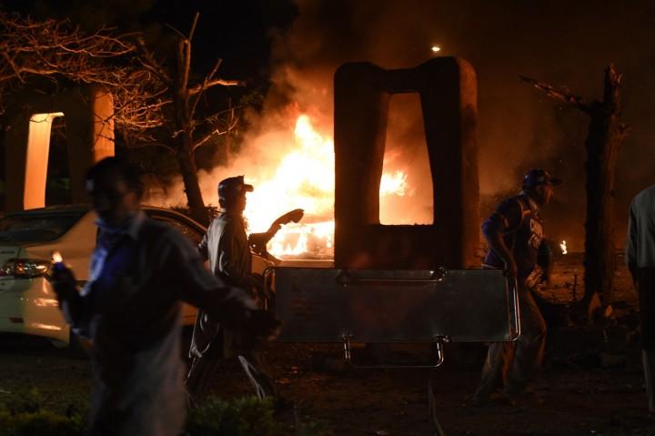 Ledakan Dahsyat Guncang Hotel Mewah Pakistan, 4 Orang Meninggal