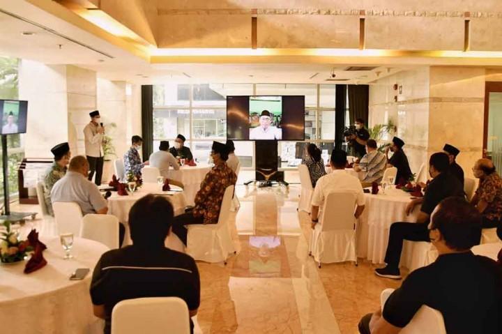 Foto: Media Group News Gelar Silaturahmi dengan PBNU