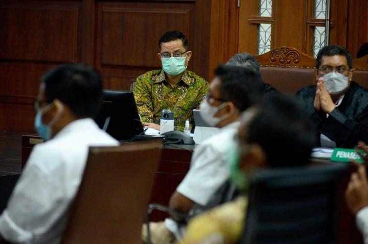 Foto: Jaksa Hadirkan Lima Tim Teknis Bansos di Sidang Juliari