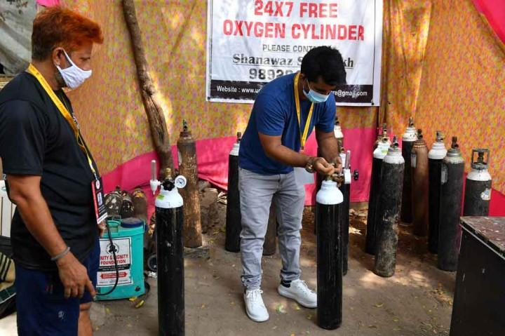 Pria Mumbai Ini Jual Mobilnya untuk Pasok Oksigen Secara Gratis