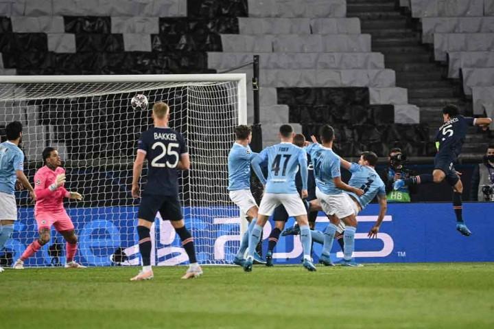 PSG Vs Man City: The Citizens Bekuk Les Parisiens 2-1