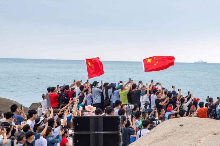 Tiongkok Luncurkan Modul Pertama untuk Stasiun Luar Angkasa Baru
