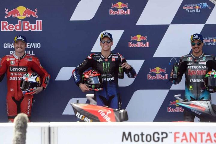 Quartararo Kembali Rebut Pole Position di GP Spanyol