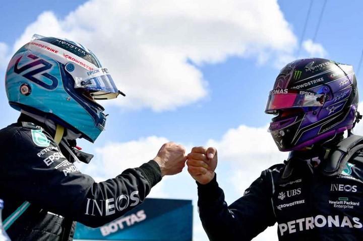 F1 GP Portugal: Bottas Pole, Hamilton Start di Posisi Kedua