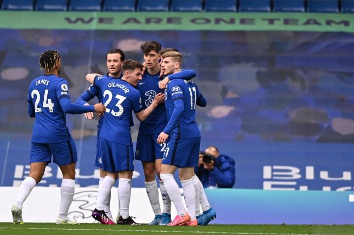 Chelsea Vs Fulham: Kai Havertz Cetak Brace, The Blues Menang 2-0