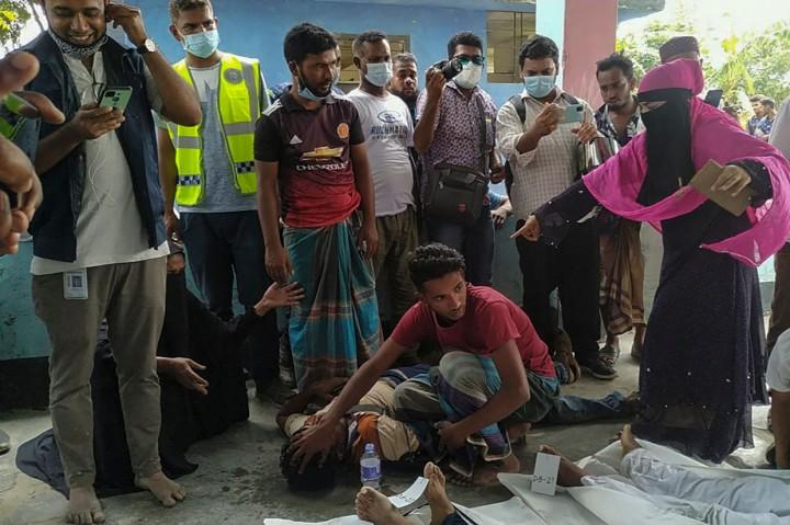 Tragis! Tabrakan Spedboat dan Kapal Pasir di Bangladesh Tewaskan