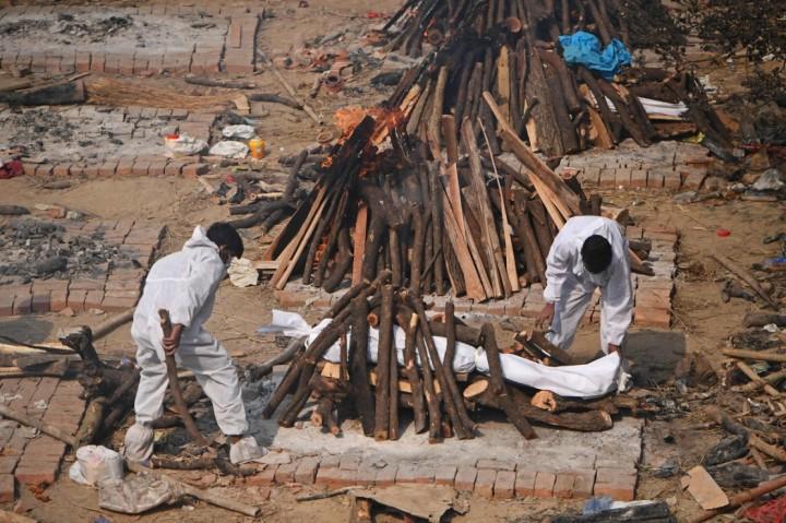 3 Berita Foto Terpopuler: Kasus Covid di India Nyaris 20 Juta