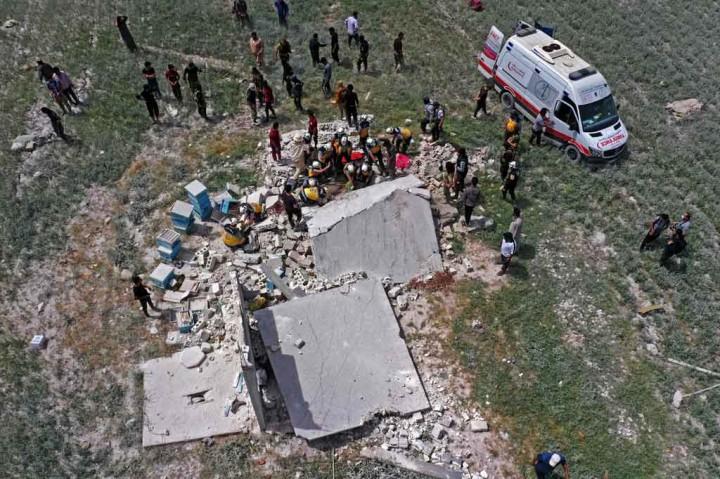 Ledakan Hantam Gudang Senjata Jihadis di Idlib, 3 Orang Meninggal