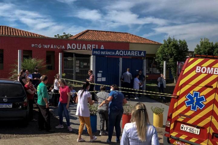 Penikaman di Tempat Penitipan Anak Brasil, 5 Orang Meninggal