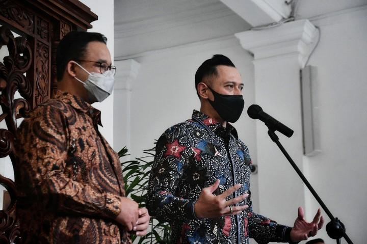 Momen Pertemuan AHY dan Anies di Balai Kota