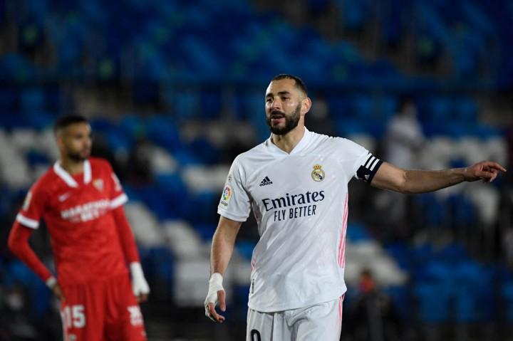 Real Madrid Vs Sevilla: Ditahan Imbang 2-2, Los Blancos Gagal ke